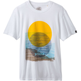 Prana Wasser - T-shirt manches courtes Homme - blanc